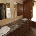 CMH Schult Charleston Mobile Home Master Bathroom