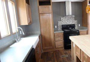 Clayton Decision Maker DMK16803C Mobile Home Kitchen