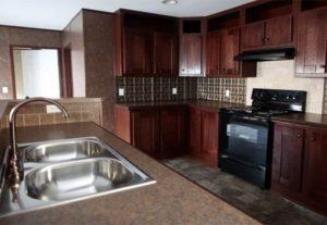 Clayton Smart Buy SMB16763I Mobile Home Kitchen
