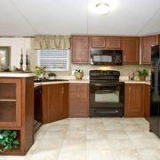 Clayton Sierra Vista SEV16764B Mobile Home Kitchen