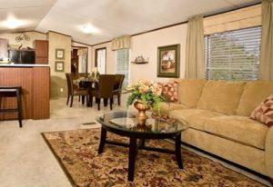 Clayton Sierra Vista SEV16764B Mobile Home Living Room