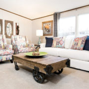 TruMH Holyfield / Jubilation Mobile Home Living Room