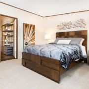 TruMH Holyfield / Jubilation Mobile Home Master Bedroom
