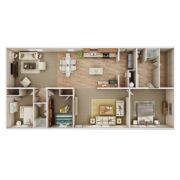 holyfield-jubilaton-3D floor plan