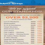 Sulphur Springs Standards-