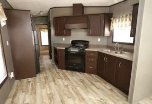 Cavco WFH CPTM 10S Mobile Home Kitchen/Dining Area