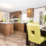 TruMH Ali / Thrill Mobile Home Kitchen and Dining Area