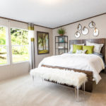 TruMH Ali / Thrill Mobile Home Master Bedroom