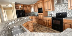 Picture Of Skyline Callahan 5668 Mobile Home Kitchen