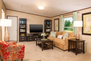Alamo Homes - Family Living room