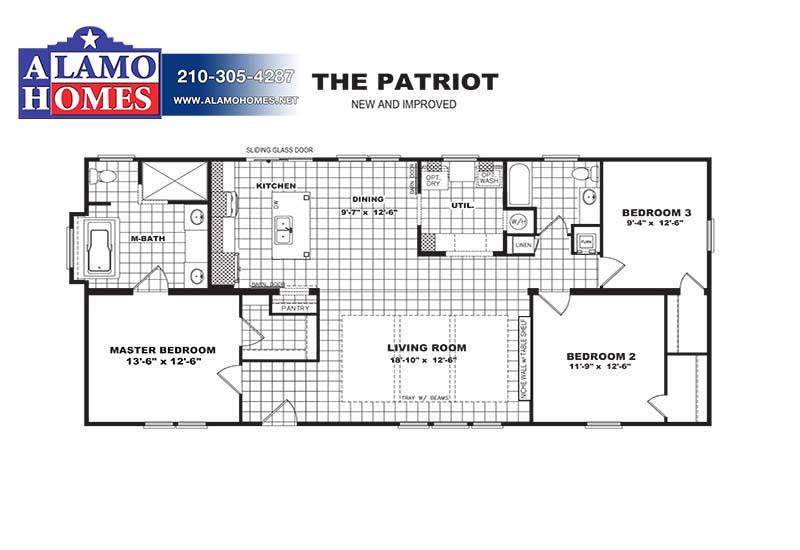 PATRIOT-Branded Floor Plan