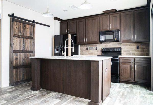 Patriot Home - Pantry Barn Door and Granite
