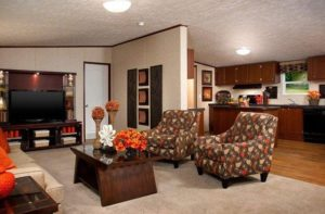 Picture Of TruMH Ali Mobile Home Living Room #2