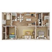 money-satisfaction-3D floor plan