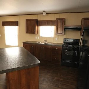 Fleetwood Berkshire 32624B Mobile Home Kitchen
