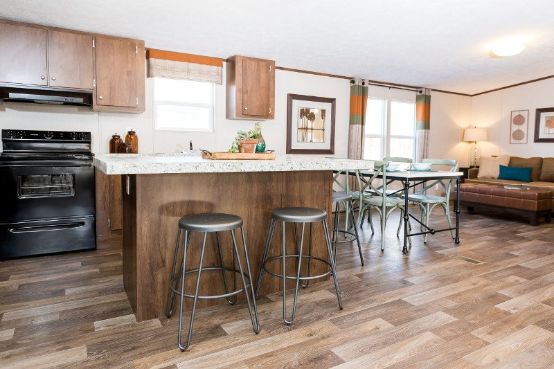 Marvel-Kitchen Island, Dining Area, Living Room