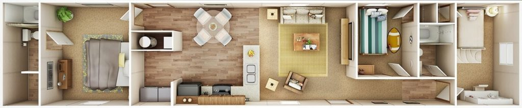 ELATION-3D Floor Plan