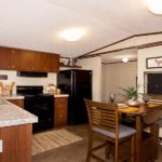 TruMH Steal I Mobile Home Kitchen and Dining Area