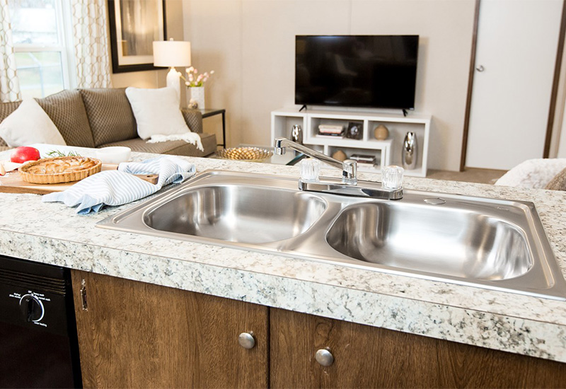 Dempsey-Kitchen Sink and Living Room