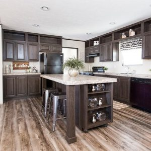 THE SUNDOWNER Mobile Home Kitchen