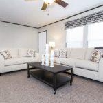 THE SUNDOWNER Mobile Home Living Room