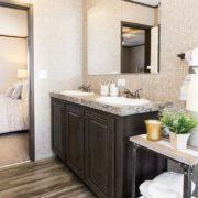 THE SUNDOWNER Mobile Home Master Bathroom