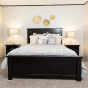 THE SUNDOWNER Mobile Home Master Bedroom