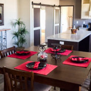 Fleetwood Eagle 32623E Mobile Home Dining Area