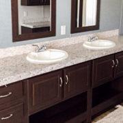 Fleetwood Eagle 32623E Mobile Home Master Bathroom