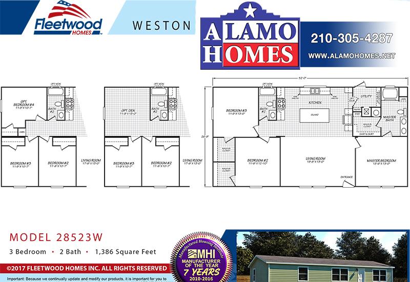 fleetwood- Branded floor plan
