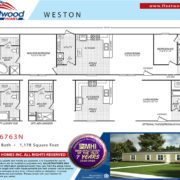 Fleetwood weston-16763N-Floor plan