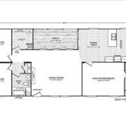 Fleetwood-Weston-28603W-Floor-Plan