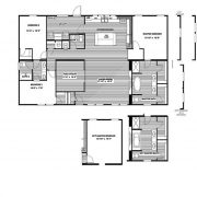 Clayton Farmhouse - Mobile Home - Floor Plan