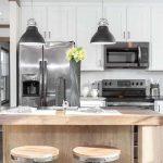 Clayton Annie-Kitchen Island and Fridge and Sink