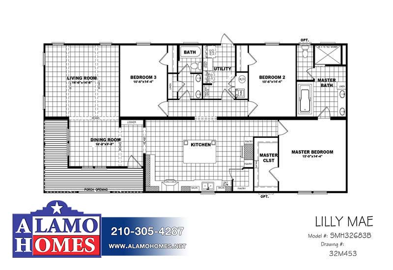 Clayton Lilly Mae - Branded Floor Plan
