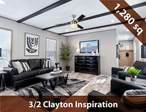 3 Bed 2 Bath Clayton Inspiration