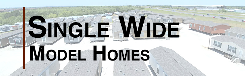 single wide mobile homes models
