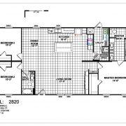 Meridian Approx - 2820 - FLoor Plan2820