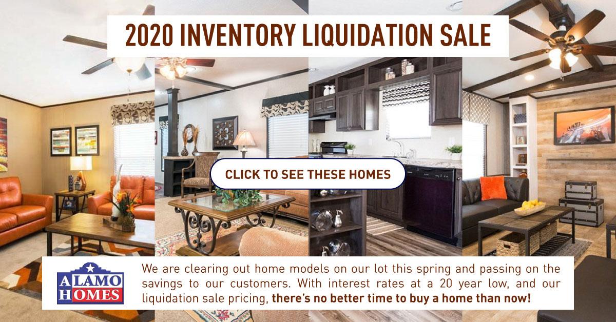 inventory liquidation homes