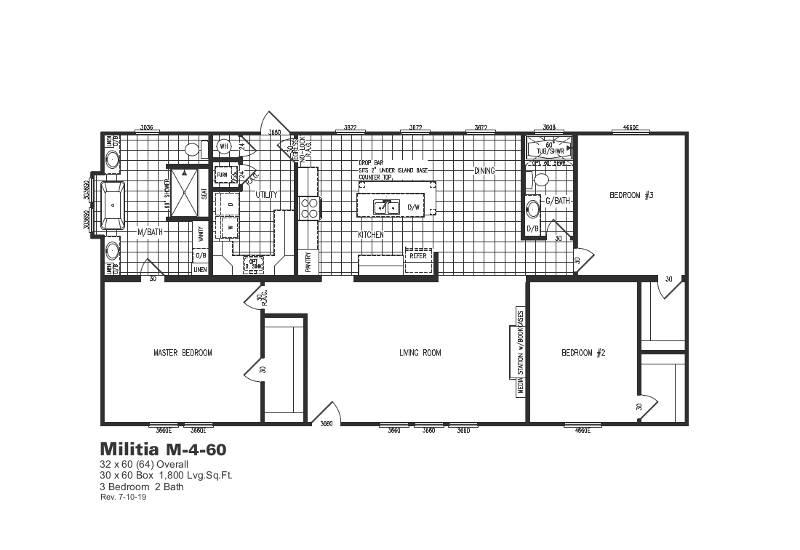 M4 – M460 — Floor Plan