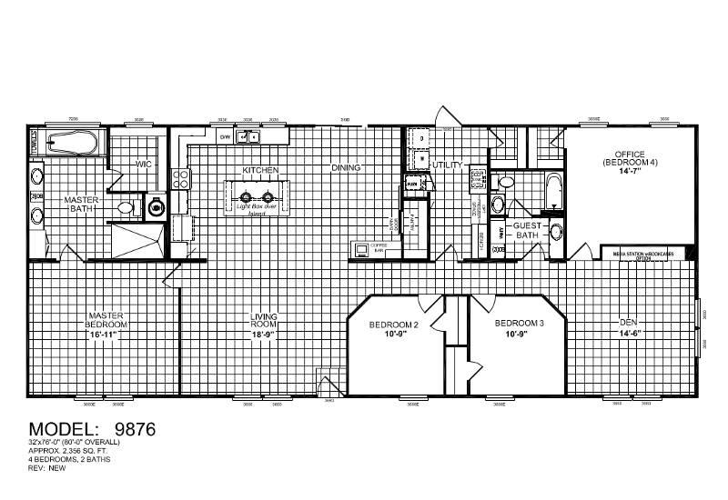 Bella – 9876 — Floor Plan