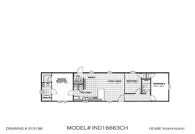 Independent 66 – IND16663C – Floor Plan