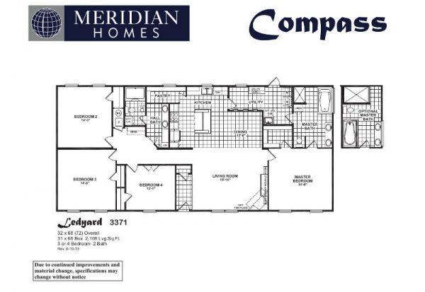 Meridian Ledyard - 3371 - FP