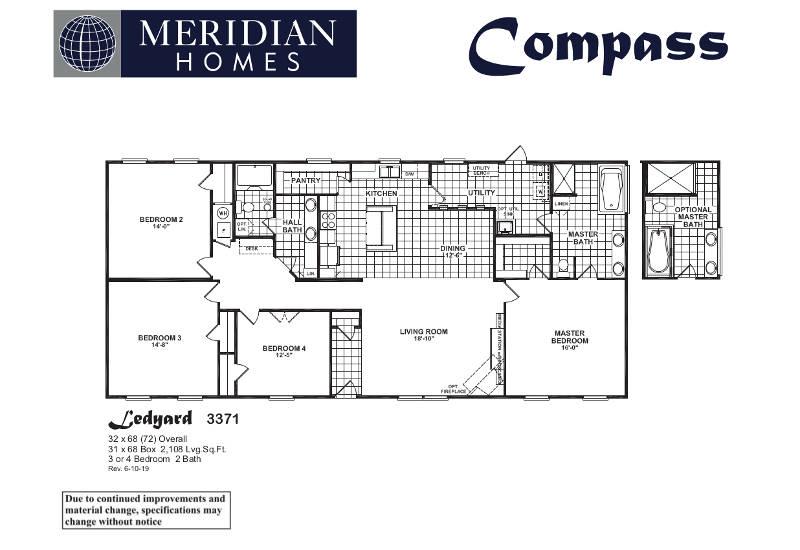 Ledyard 3371 – Floor Plan