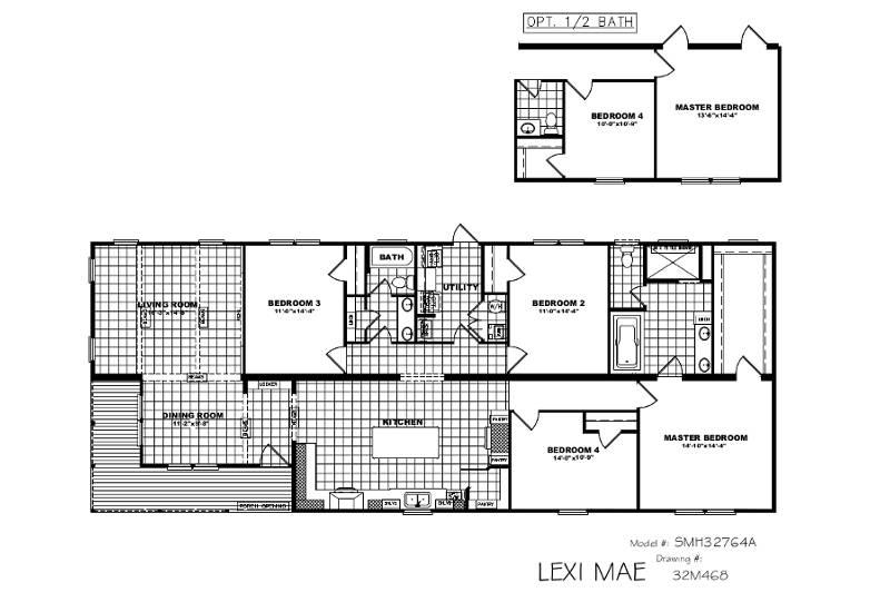 Lexi-Mae – SMH32764A — Floor Plan