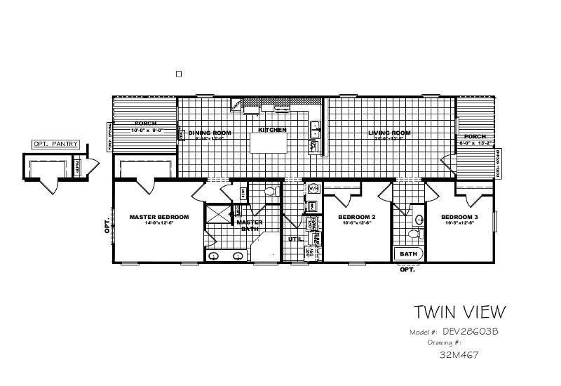 Nicklaus – DEV28603B — Floor Plan