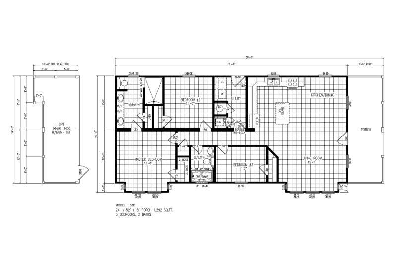 Swan – L52E — Floor Plan
