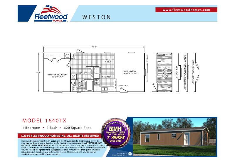 WE16401X – Floor Plan