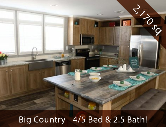 Big Country - Huge Double Wide Mobile Homes