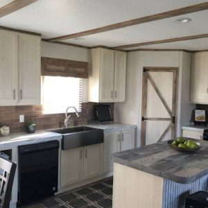 Fleetwood Americana 2856 - AE28563R - Kitchen 2